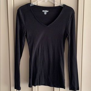 Old Navy Black Long Sleeve Shirt